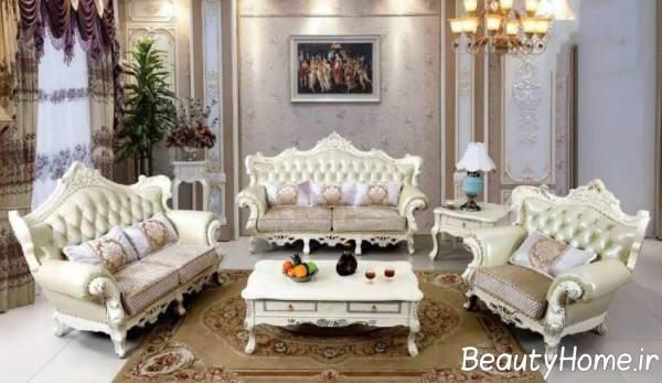 طرح مبلمان سلطنتی زیبا و خاص