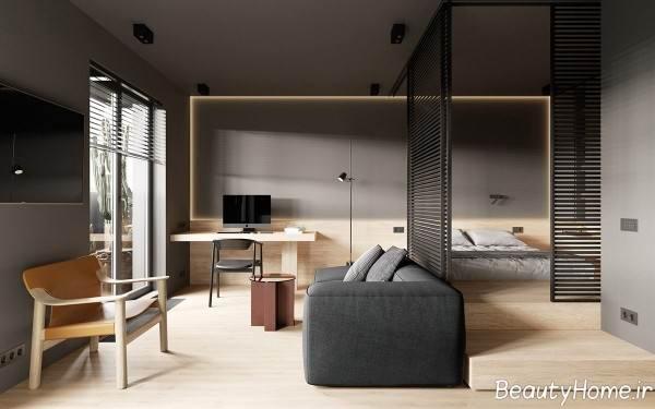 دکوراسیون خانه آپارتمانی کوچک