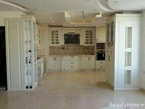 کابینت برای آشپزخانه کلاسیک