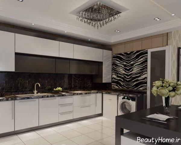 طرح کابینت آشپزخانه ایرانی