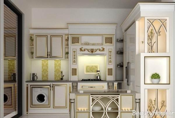 مدل کابینت لوکس برای آشپزخانه
