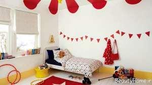 مدل اتاق خواب کودک برای دختران جوان