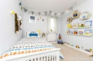 دکوراسیون اتاق خواب پسرانه زیبا و شیک
