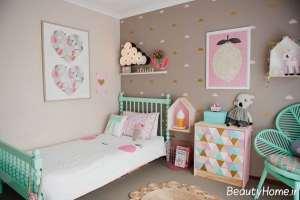 مدل اتاق خواب کودک با طراحی فانتزی