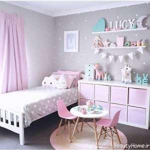 دکوراسیون داخلی اتاق خواب دخترانه