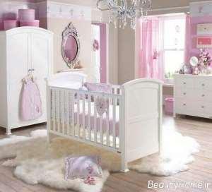 سرویس خواب سفید برای نوزاد