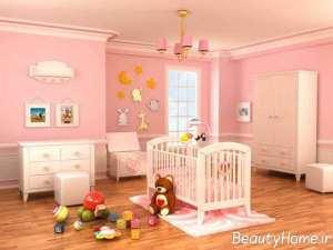 مدل سرویس خواب زیبا برای نوزاد
