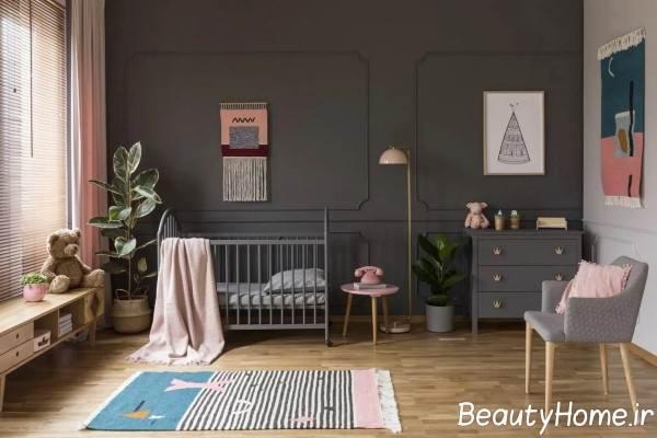 سرویس خواب طوسی برای نوزاد