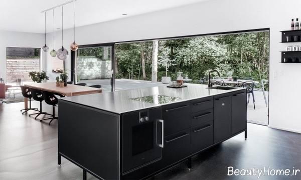 دکوراسیون آشپزخانه دانمارکی