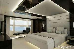 نورپردازی کف اتاق خواب