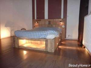 طراحی نورپردازی برای کفپوش اتاق خواب