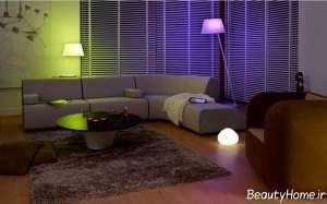 نورپردازی سالن پذیرایی
