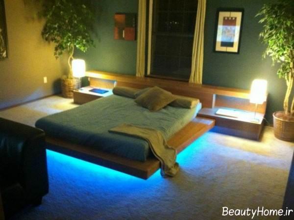 نورپردازی کف اتاق