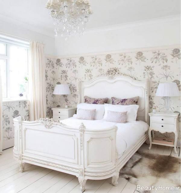 دکوراسیون اتاق خواب فرانسوی