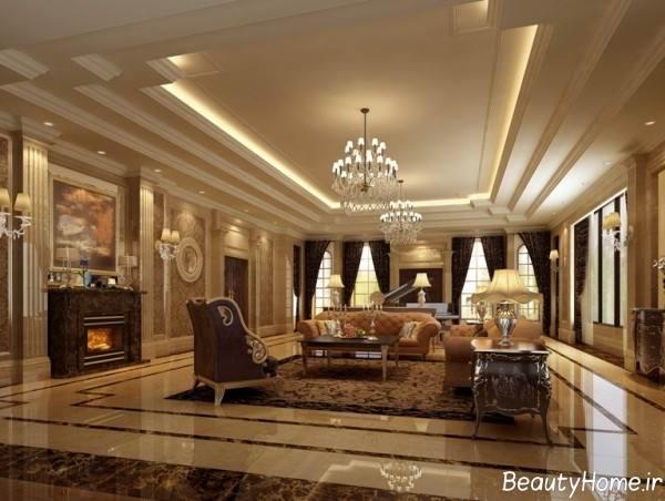 نورپردازی خانه فرانسوی