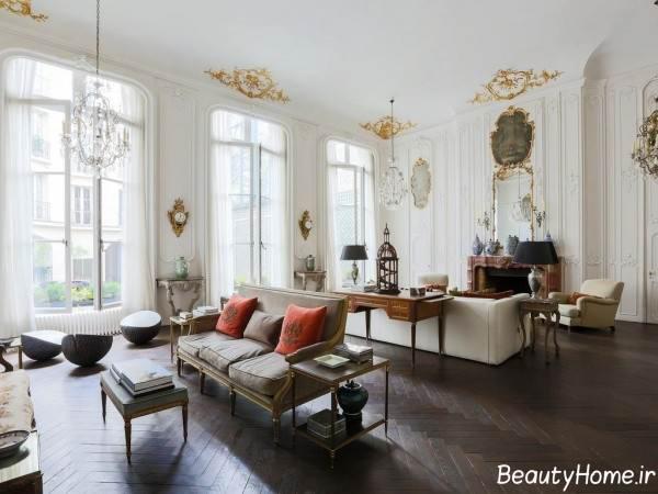 طراحی داخلی فرانسوی