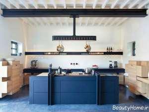 دکوراسیون داخلی آشپزخانه فرانسوی