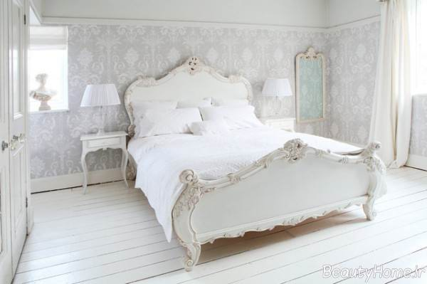 دکوراسیون اتاق خواب با رنگ روشن
