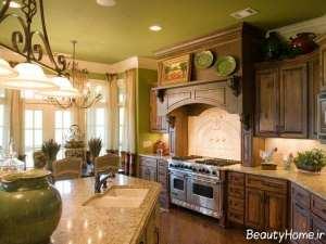 دکوراسیون آشپزخانه به سبک فرانسه