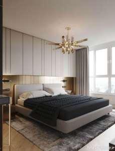 دیزاین داخلی تلفیقی برای اتاق خواب