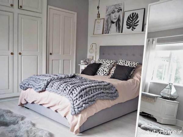 طراحی اتاق خواب با سبک تلفیقی