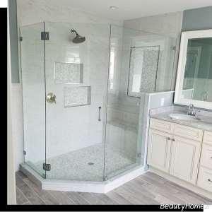 مدل حمام شیشه ای