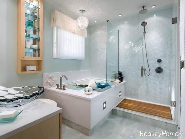 دکوراسیون داخلی حمام شیشه ای
