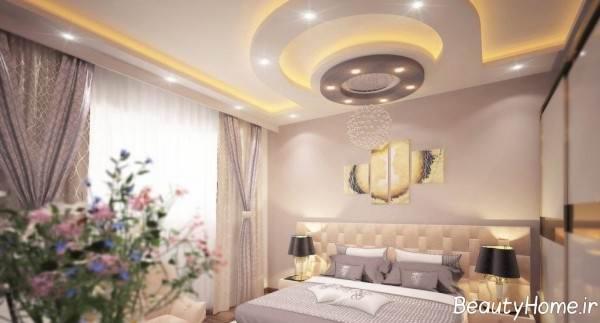 کناف سقف اتاق خواب