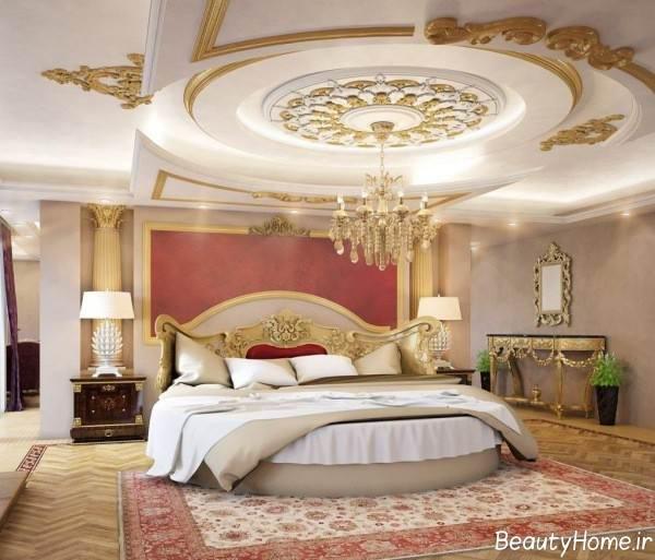 کناف سقف برای اتاق خواب