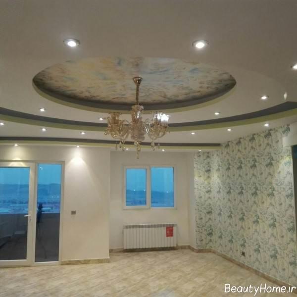 کناف سقف مخصوص سالن پذیرایی