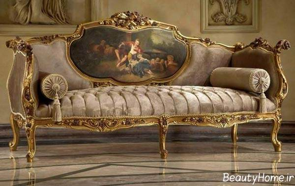 مدل مبلمان شزلون سلطنتی