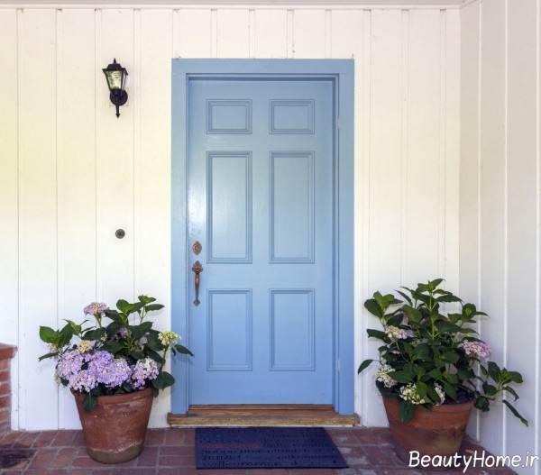 درب ساده برای ساختمان