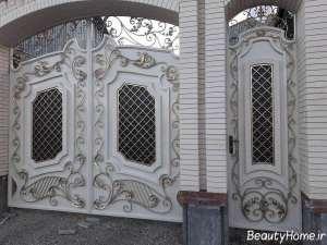 درب زیبا ساختمان