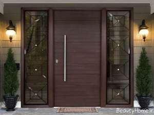 درب مدرن برای ساختمان