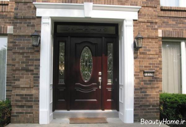 درب زیبا برای ساختمان