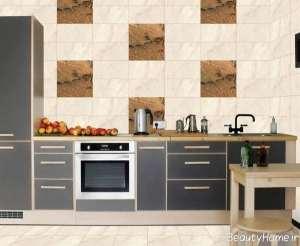 مدل کاشی طرح دار برای آشپزخانه