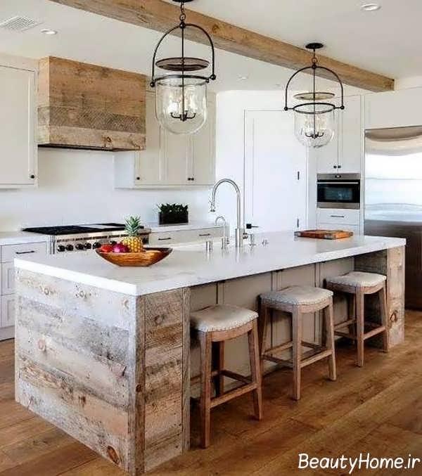 ایده های دیزاین آشپزخانه روستیک