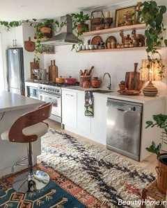 طراحی آشپزخانه روستیک