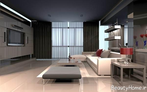 دیزاین داخلی سالن پذیرایی کوچک