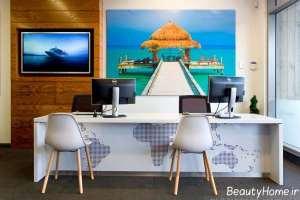 طراحی داخلی برای آژانس مسافرتی