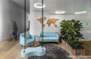 طراحی نورپردازی برای آژانس مسافرتی