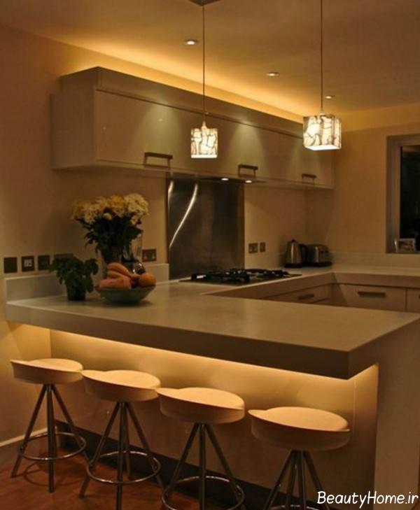نورپردازی مخفی آشپزخانه