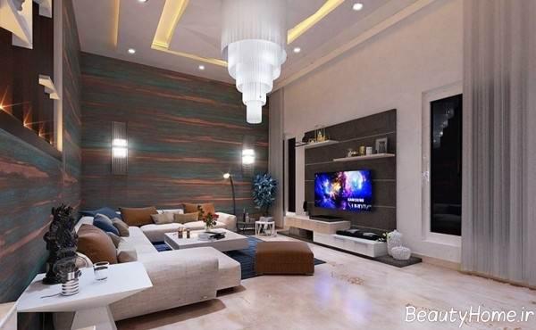 طراحی نورپردازی برای اتاق نشیمن