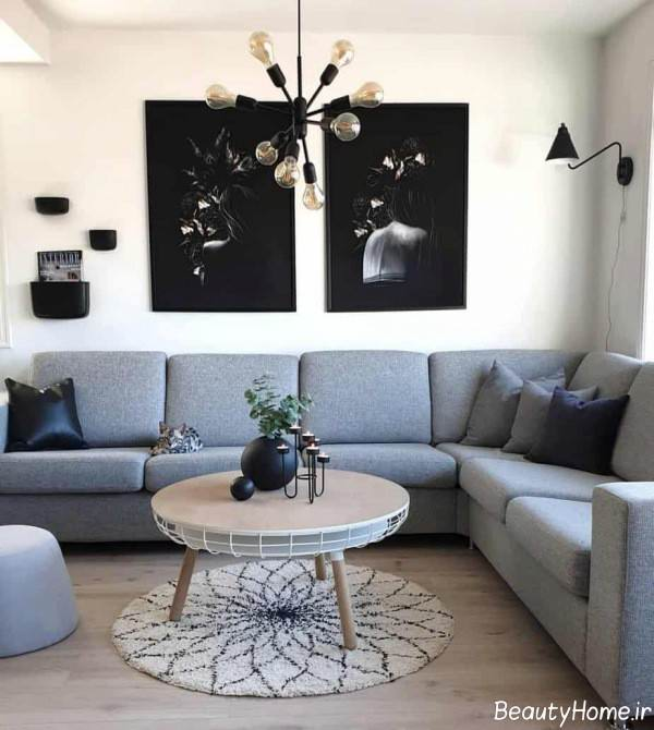دیزاین نورپردازی اتاق نشیمن