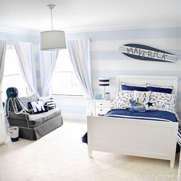 دکوراسیون اتاق خواب به سبک ماوریک