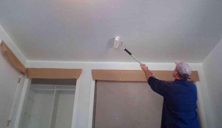 رنگ آمیزی سقف خانه