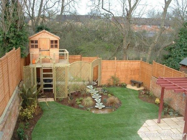 طرح باغ کوچک