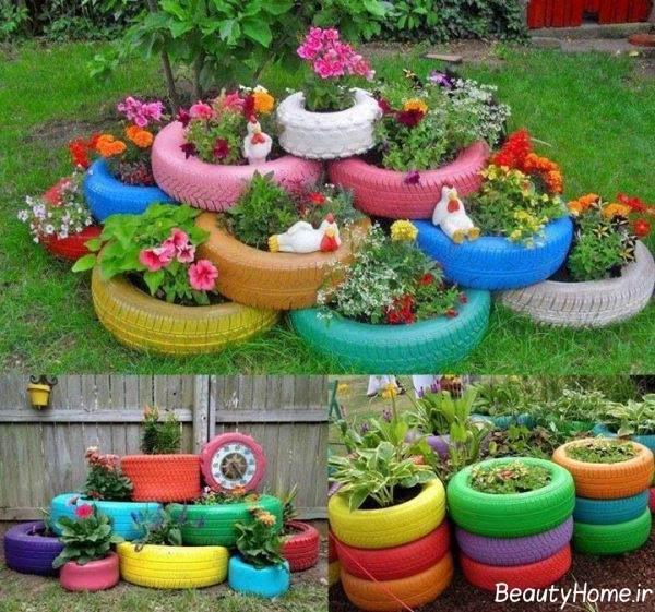 دیزاین باغ شیک و زیبا