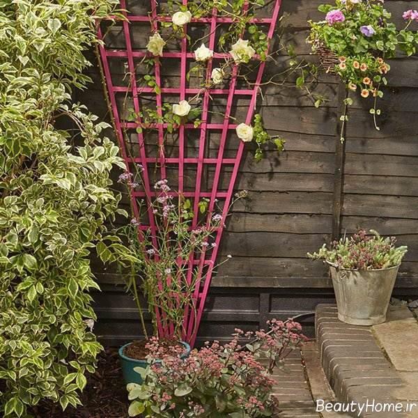 دیزاین باغ کوچک با روش های ساده