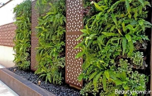 طراحی زیبا باغ